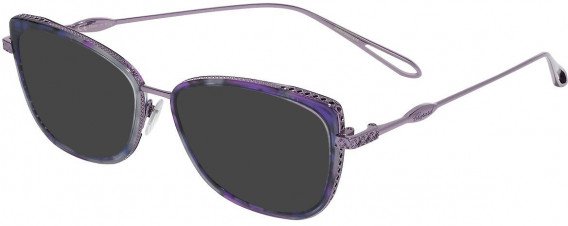 Chopard VCH256M sunglasses in Transparent Violet