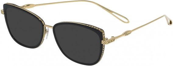 Chopard VCH256M sunglasses in Shiny Rose Gold