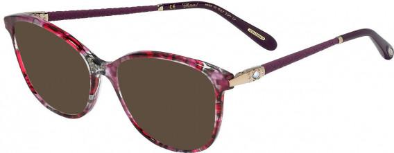 Chopard VCH255S sunglasses in Shiny Red/Fuxia Multicoloured