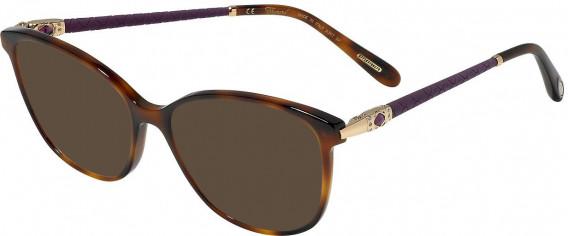 Chopard VCH255S sunglasses in Shiny Dark Havana
