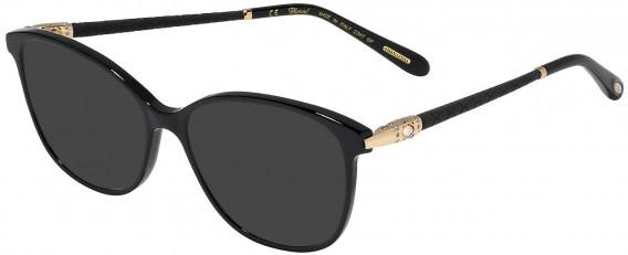 Chopard VCH255S sunglasses in Shiny Black