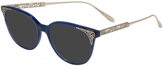 Chopard VCH253 sunglasses in Shiny Oplaline Blue