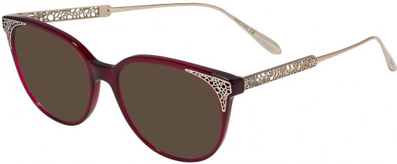 Chopard VCH253 sunglasses in Shiny Oplaine Red