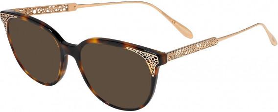 Chopard VCH253 sunglasses in Dark Havana Orange Spotted