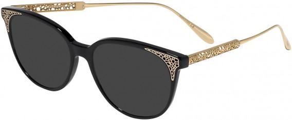 Chopard VCH253 sunglasses in Shiny Black