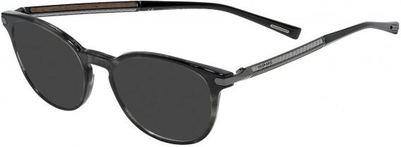 Chopard VCH250 sunglasses in Striped Grey