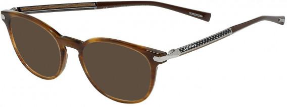 Chopard VCH250 sunglasses in Shiny Striped Beige