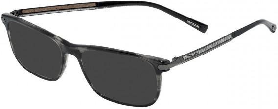 Chopard VCH249 sunglasses in Striped Grey