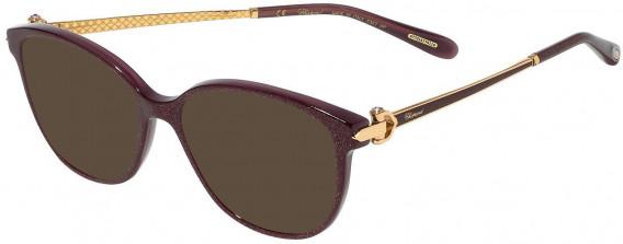 Chopard VCH245S sunglasses in Shiny Plum