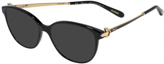 Chopard VCH245S sunglasses in Shiny Black