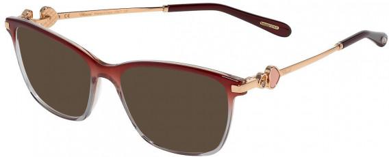 Chopard VCH244S sunglasses in Shiny Bordeaux/Pink