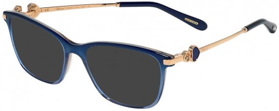 Chopard VCH244S sunglasses in Shiny Blue Rose