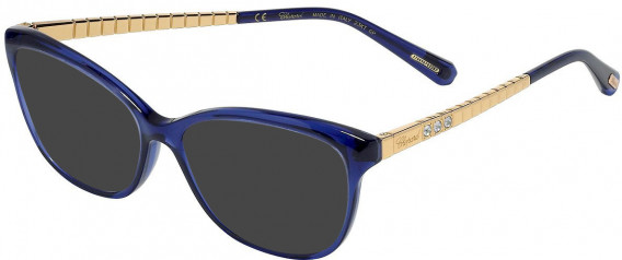 Chopard VCH243S sunglasses in Transparent Blue