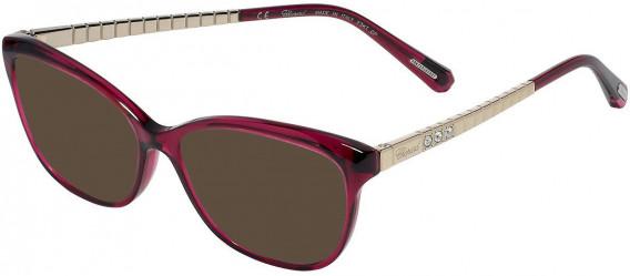 Chopard VCH243S sunglasses in Shiny Transparent Cyclamen