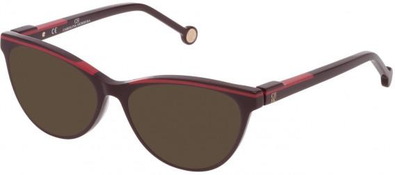 CH Carolina Herrera VHE837L sunglasses in Full Blue