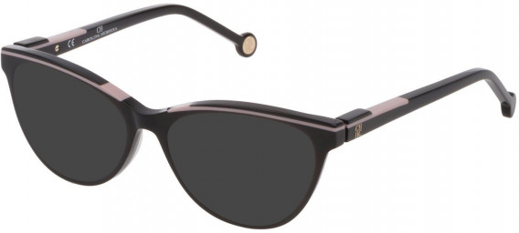 CH Carolina Herrera VHE837L sunglasses in Shiny Black