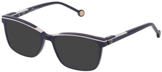 CH Carolina Herrera VHE836L sunglasses in Full Blue