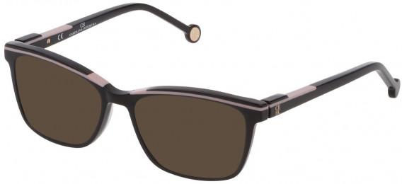 CH Carolina Herrera VHE836L sunglasses in Shiny Black