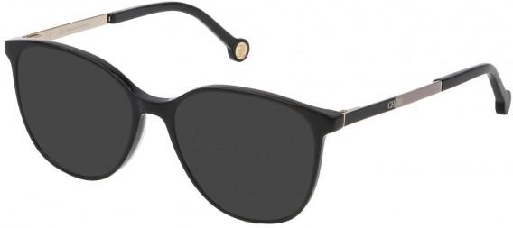 CH Carolina Herrera VHE819 sunglasses in Shiny Black