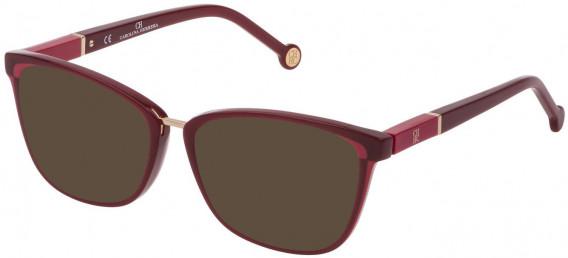 CH Carolina Herrera VHE814 sunglasses in Full Bordeaux