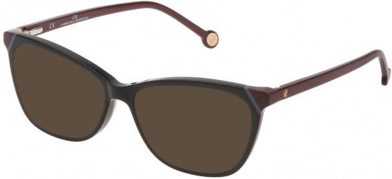 CH Carolina Herrera VHE806L sunglasses in Shiny Black