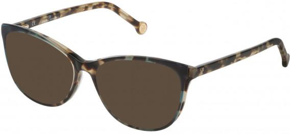 CH Carolina Herrera VHE804 sunglasses in Shiny Havana