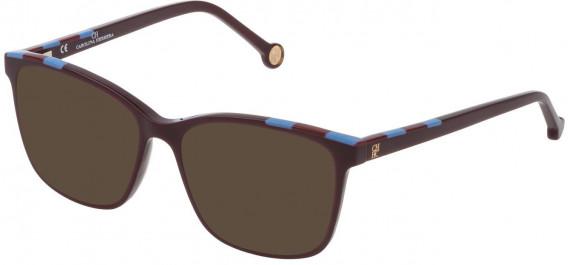 CH Carolina Herrera VHE803 sunglasses in Shiny Full Plum