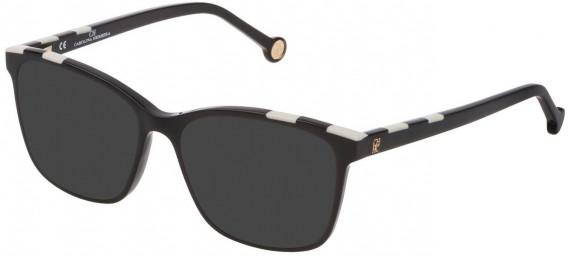 CH Carolina Herrera VHE803 sunglasses in Shiny Black