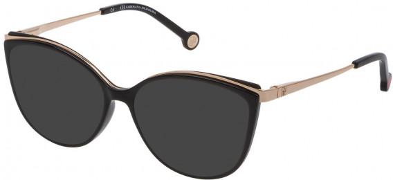 CH Carolina Herrera VHE783 sunglasses in Shiny Black