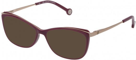 CH Carolina Herrera VHE782 sunglasses in Shiny Cyclamen
