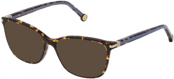 CH Carolina Herrera VHE775 sunglasses in Shiny Yellow Havana