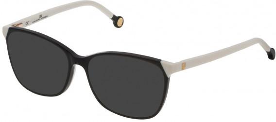 CH Carolina Herrera VHE773 sunglasses in Shiny Black