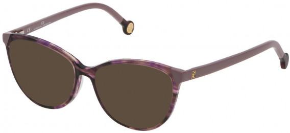 CH Carolina Herrera VHE772 sunglasses in Brown