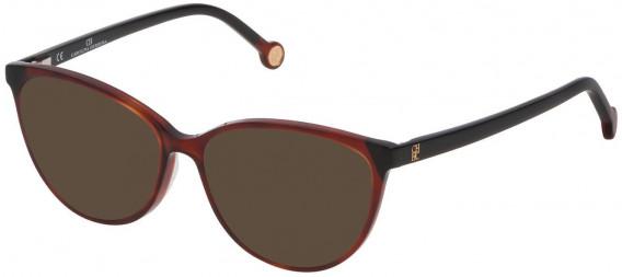 CH Carolina Herrera VHE772 sunglasses in Shiny Medium Havana