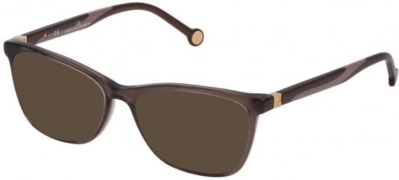 CH Carolina Herrera VHE771 sunglasses in Transparent Brown