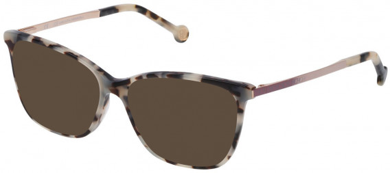 CH Carolina Herrera VHE758N sunglasses in Black/White Havana