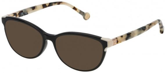 CH Carolina Herrera VHE739 sunglasses in Shiny Black