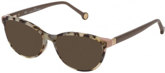 CH Carolina Herrera VHE739 sunglasses in Black/White Havana