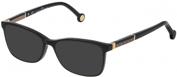 CH Carolina Herrera VHE733L sunglasses in Shiny Black