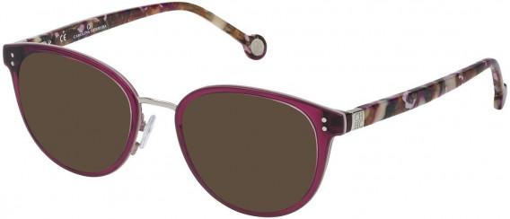 CH Carolina Herrera VHE727 sunglasses in Bordeaux