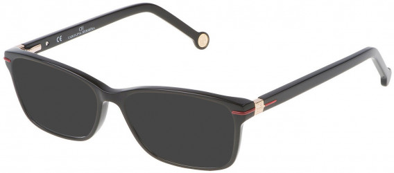 CH Carolina Herrera VHE661 sunglasses in Shiny Black