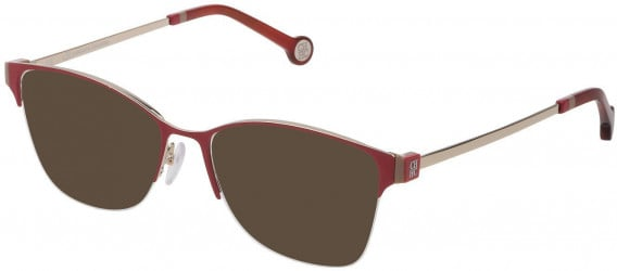CH Carolina Herrera VHE137 sunglasses in Shiny Light Gold