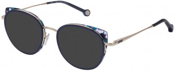 CH Carolina Herrera VHE135 sunglasses in Shiny Light Gold