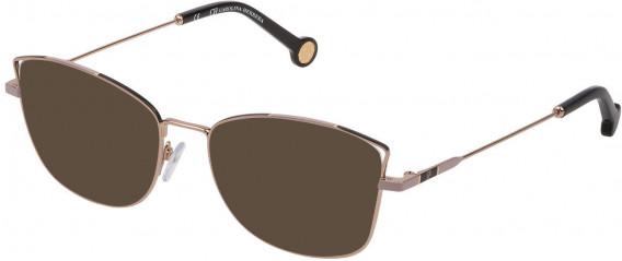 CH Carolina Herrera VHE133 sunglasses in Shiny Camel