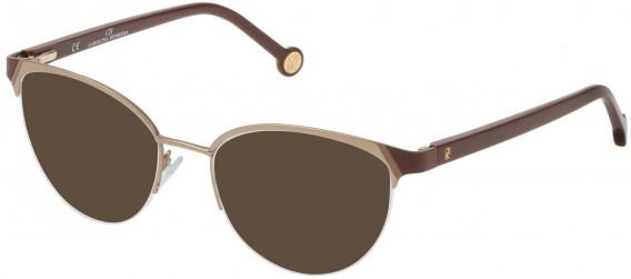 CH Carolina Herrera VHE126L sunglasses in Matt Camel