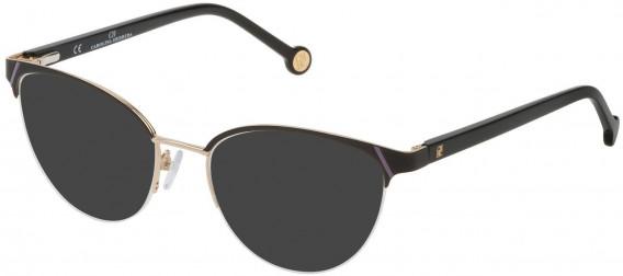 CH Carolina Herrera VHE126L sunglasses in Rose Gold