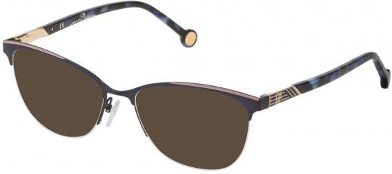 CH Carolina Herrera VHE123 sunglasses in Semi Matt Blue