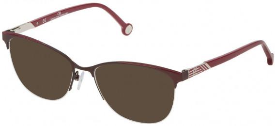 CH Carolina Herrera VHE123 sunglasses in Matt Bordeaux