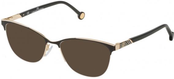 CH Carolina Herrera VHE123 sunglasses in Shiny Rose Gold