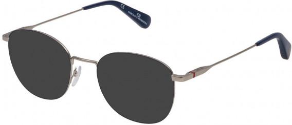 CH Carolina Herrera VHE117 sunglasses in Matt Palladium